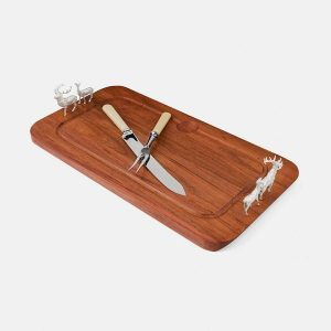 SCOTTISH SILVER Carving Board - Red Deer