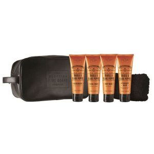 SCOTTISH FINE SOAP Men's Grooming Travel Bag