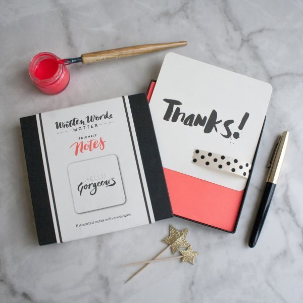 SPOTS AND STRIPES Friendly notes box set (8)