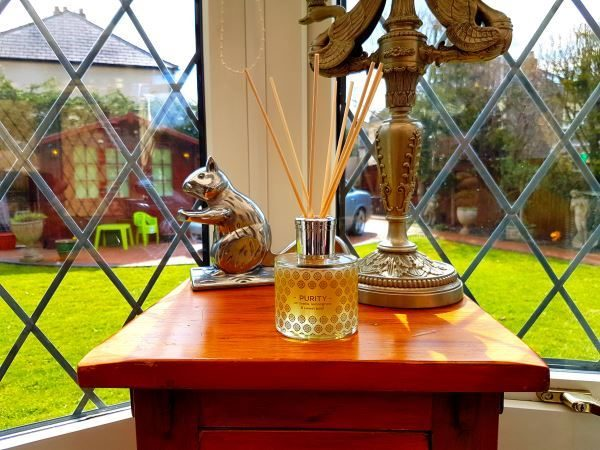 SHUI ME - Purity - luxury, organic, aromatherapy reed diffuser