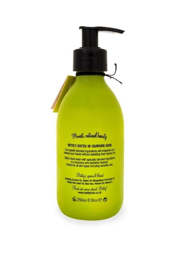 BETTY HULA Nourishing Anti-bacterial hand wash large - Lime and Mango
