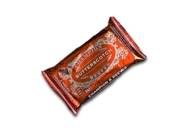 CHAMPION & REEVES Snack pack of Butterscotch - 4 pieces