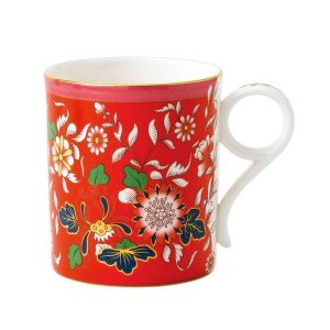 WEDGWOOD Wonderlust Crimson Jewel Mug - Small