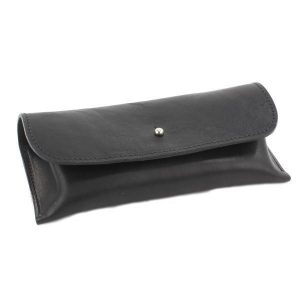BRITISH BELT COMPANY Italian Leather Glasses Case