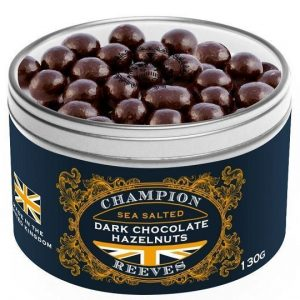 CHAMPION & REEVES Dark Chocolate Hazelnuts Gift Tin