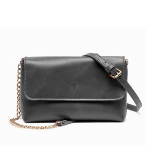 JARDINE OF LONDON The Judi Clutch Bag - Black