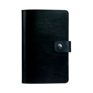 JARDINE OF LONDON Suffolk Leather Journal - Black