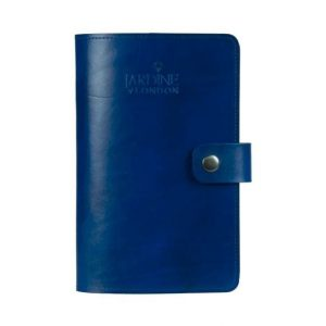JARDINE OF LONDON Suffolk Leather Journal - Dark Blue