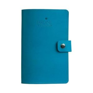 JARDINE OF LONDON Suffolk Leather Journal - Light Blue