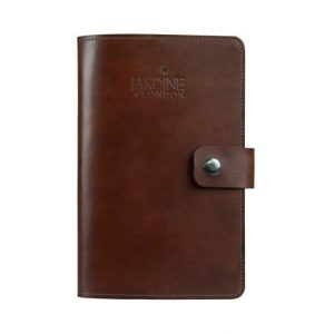 JARDINE OF LONDON Suffolk Leather Journal - Mid Brown