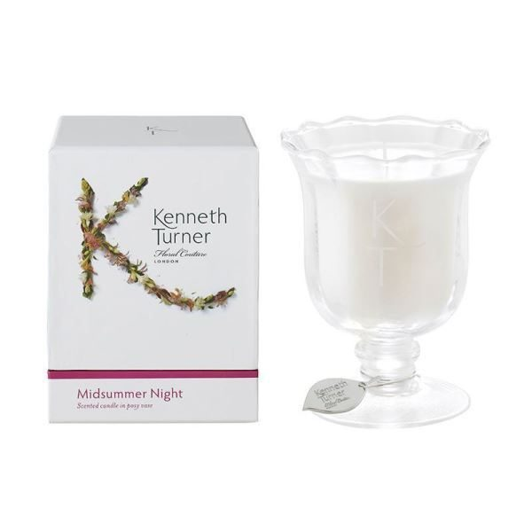 KENNETH TURNER Scented Candle - Posy Vase