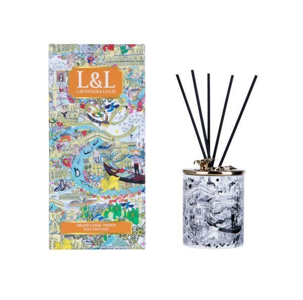 LAVENDER AND LILLIE Reed Diffuser - Grand Canal, Venice