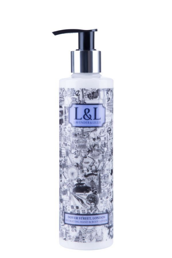 LAVENDER AND LILLIE Hand & Body Lotion - Dover Street, London