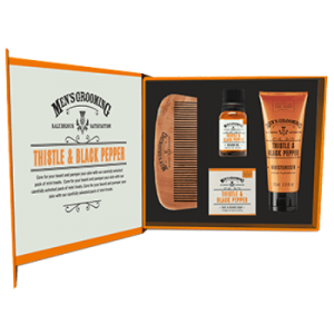 SCOTTISH FINE SOAP Men's Grooming Face & Beard Care Kit