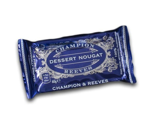CHAMPION & REEVES Snack pack of Nougat - 4 pieces