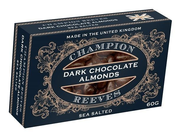CHAMPION & REEVES Pocket Box Chocolate Almonds
