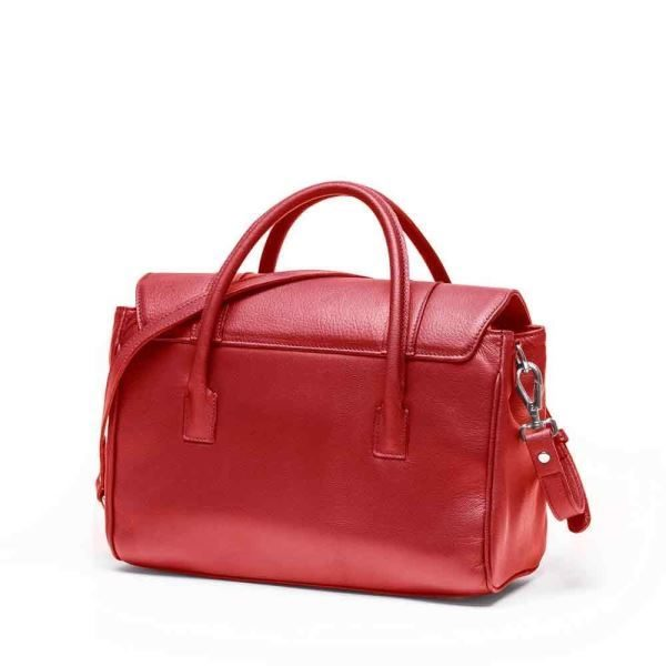 JARDINE OF LONDON The Small Queen Bag - Red