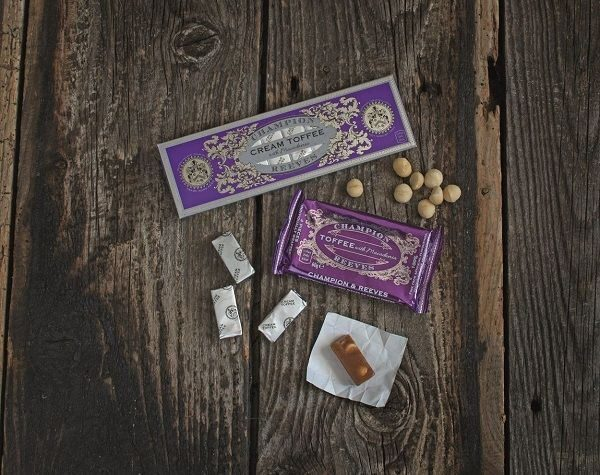 CHAMPION & REEVES Snack pack of Toffee - 4 pieces