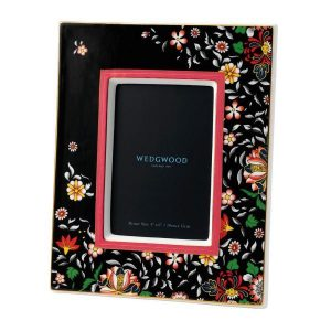 "WEDGWOOD Wonderlust Oriental Jewel 4x6"" Picture Frame"