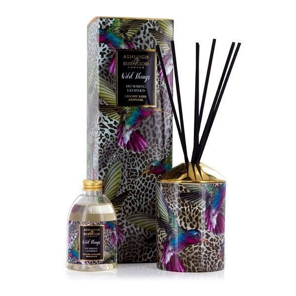 ASHLEIGH & BURWOOD Wild Thing Humming Leopard Diffuser