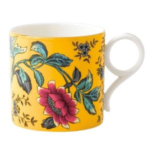 WEDGWOOD Wonderlust Yellow Tonquin Mug - Large