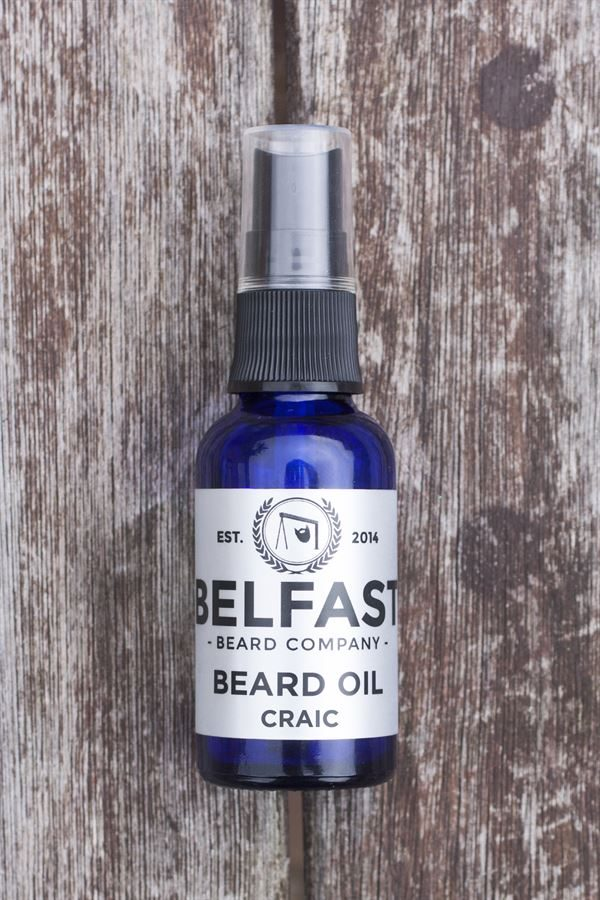 Belfast Beard - Craic Beard Oil