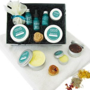 Mimi's Organics - Luxurious Floral Gift Set