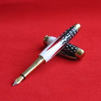 Westminster Pens - Guinea Fowl Feather Fountain Pen
